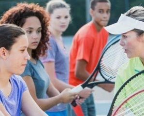 Junior tennis holidays