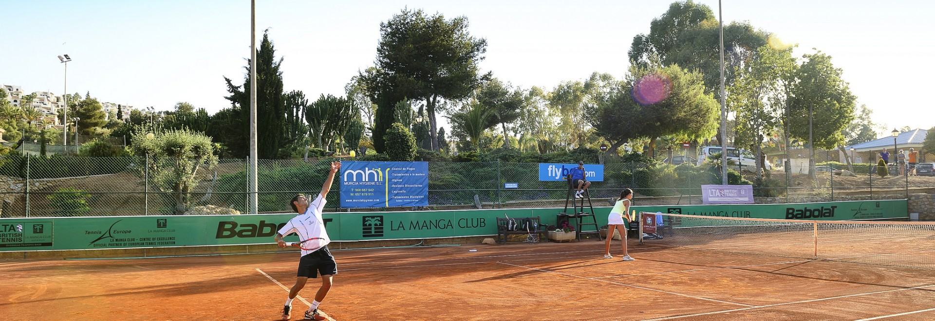 5-Day Adult Tennis Academy  - La Manga Club, Murcia