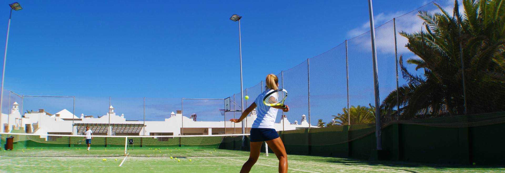 Couples Tennis Training - Corralejo Tennis Academy, Canary Islands