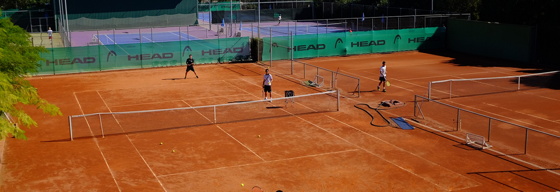Group/Team Tennis Camp - Juan Carlos Ferrero Equelite Tennis Academy, Alicante