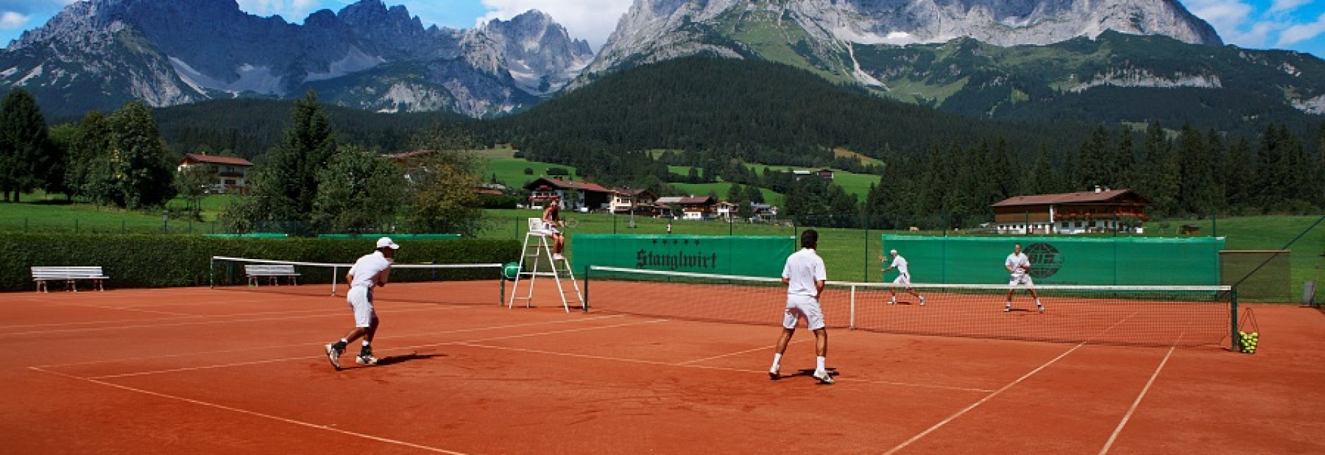 Tennis For Life - Bio Hotel Stanglwirt