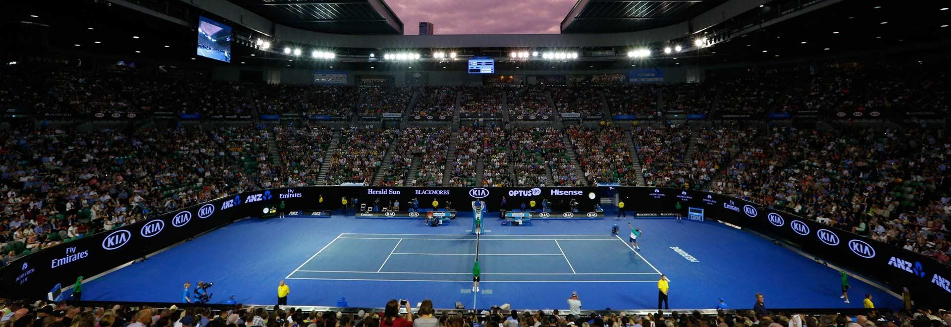 Australian open courtside bettingadvice back lay betting football premiership