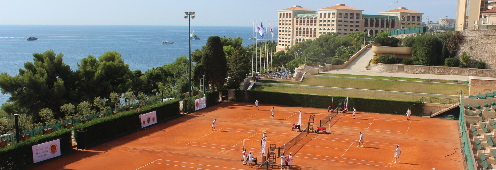 ASCoT International Men's Doubles Tournament - Monte-Carlo Country Club