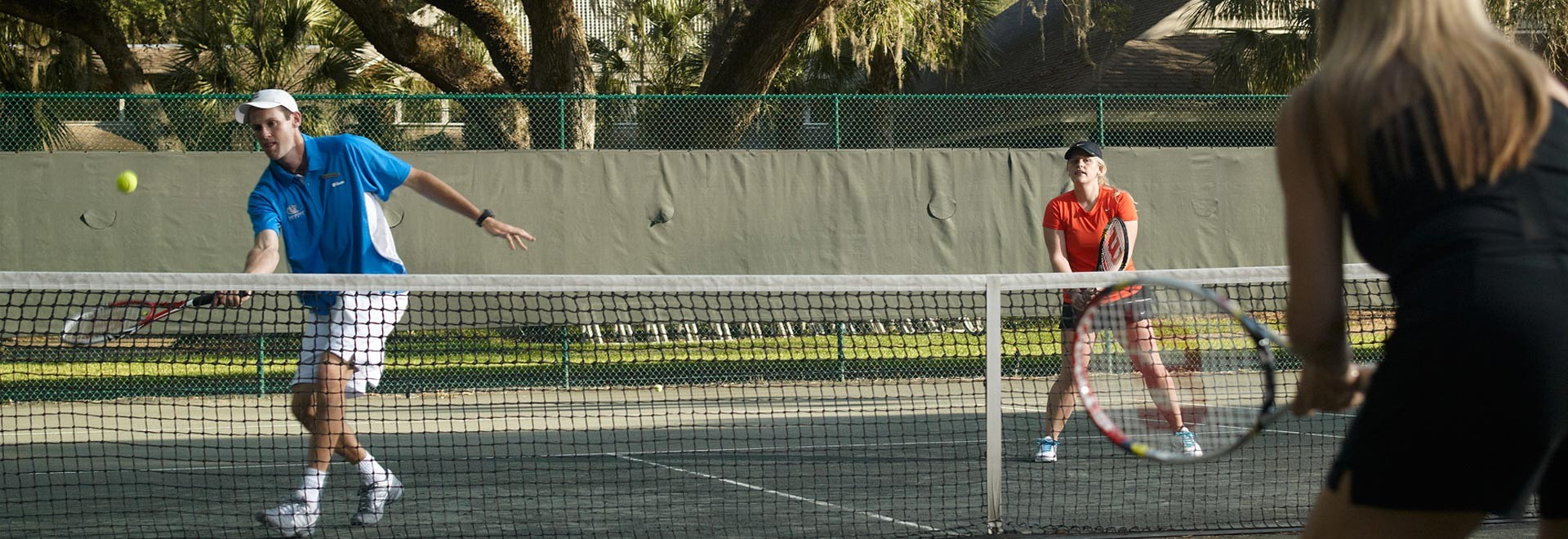Cliff Drysdale Adult Tennis Camp, Amelia Island - Omni Amelia Island Plantation Resort, Florida