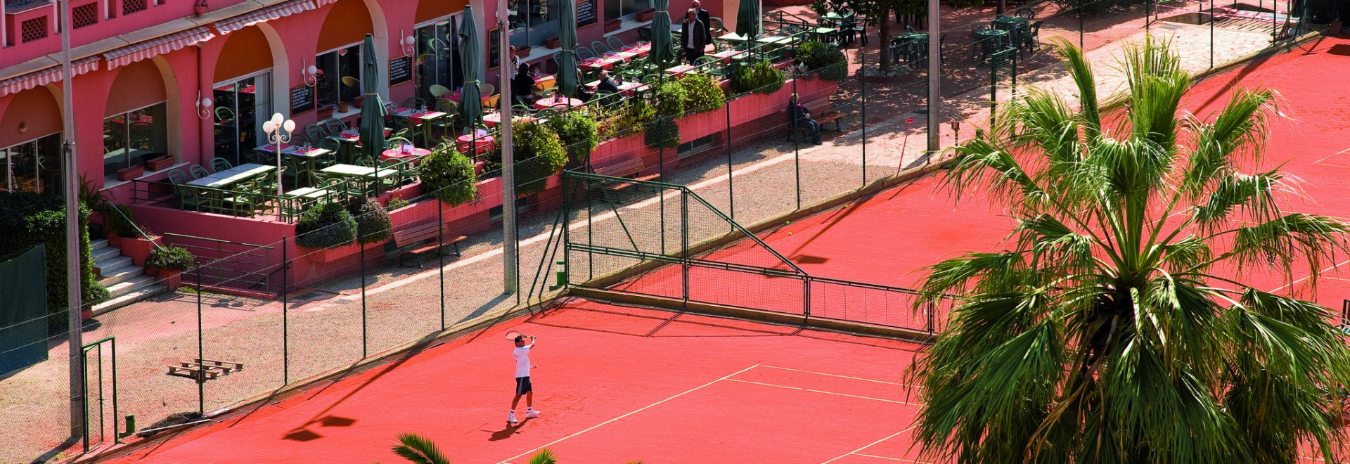 1-Week Tennis Training Camp - Nice Lawn Tennis Club, Nice