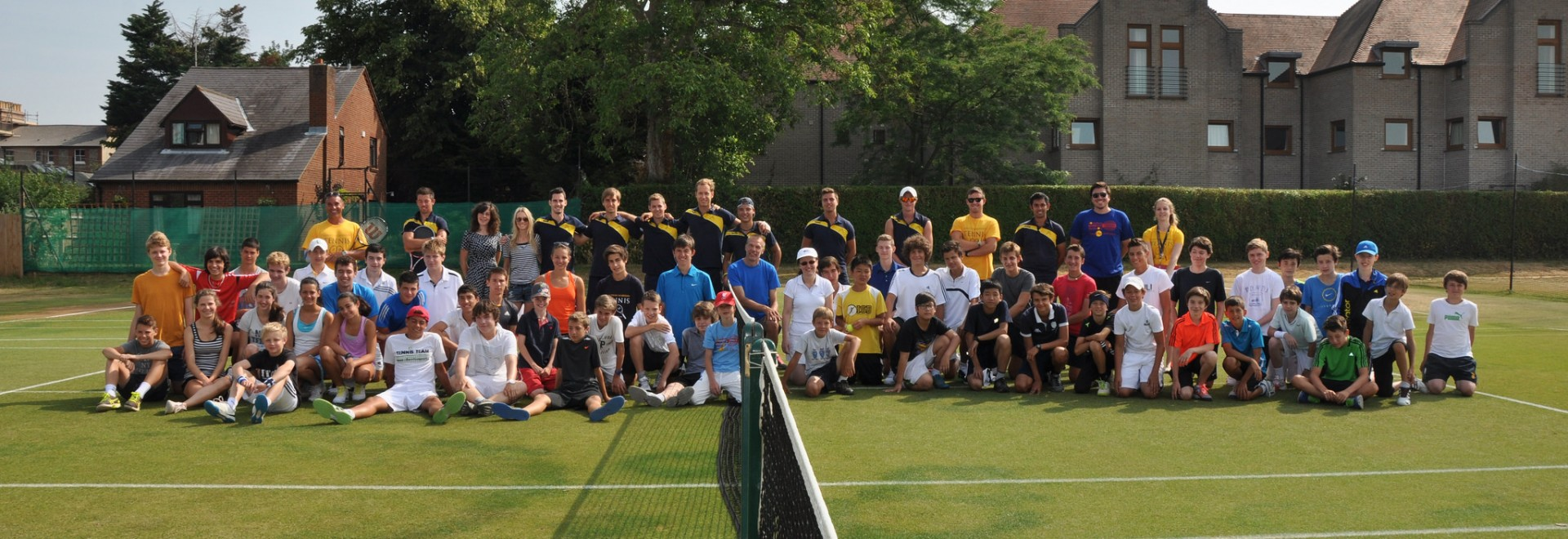 Jonathan Markson Junior Tennis Camp (and Language Classes) - University of Oxford, Oxford