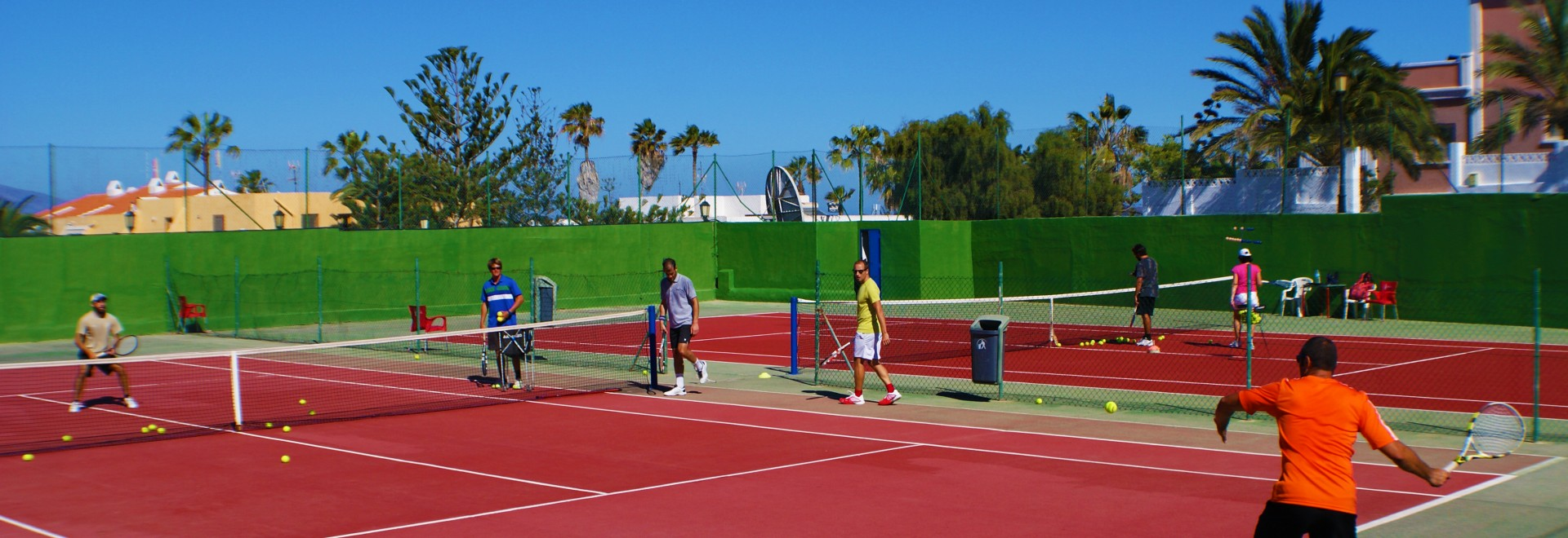 Corralejo Tennis Academy, Canary Islands - Book. Travel. Play.