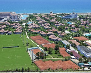 Tennis package - Starlight Deluxe & Sunrise Park, Manavgat